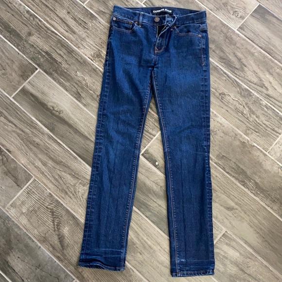 Express Skinny Mid Rise Jean